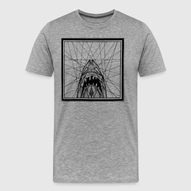Abstract JAWS - Men's Premium T-Shirt