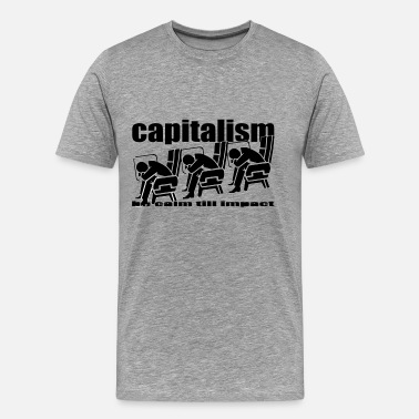 Capitalism Remix capitalism - Men's Premium T-Shirt