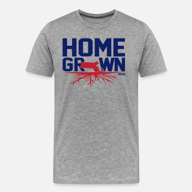 Homegrown Homegrown Massachusetts  - Men's Premium T-Shirt