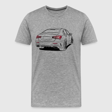 Sports Saloon Outlines - Men's Premium T-Shirt
