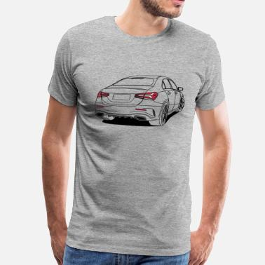 Outline Sport Sports Saloon Outlines - Men's Premium T-Shirt