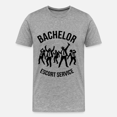 Stag Night Bachelor Escort Service (Stag Party) - Men's Premium T-Shirt