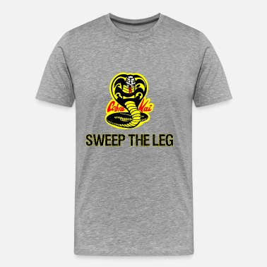Cobra Sweep The Leg - Men's Premium T-Shirt