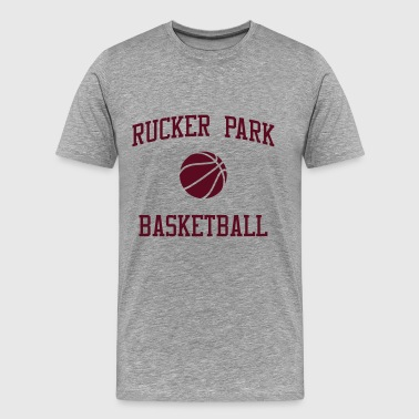 Rucker Park Rucker Park Basketball 2 - Men's Premium T-Shirt