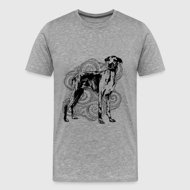 Sighthound Greyhound Azawakh Sighthound - Men's Premium T-Shirt