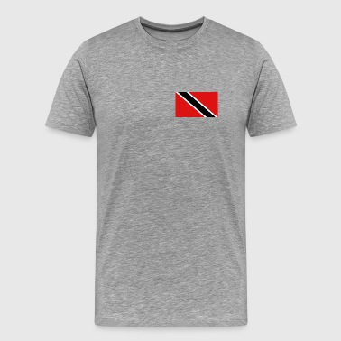 Trinidad and Tobago Flag - Men's Premium T-Shirt