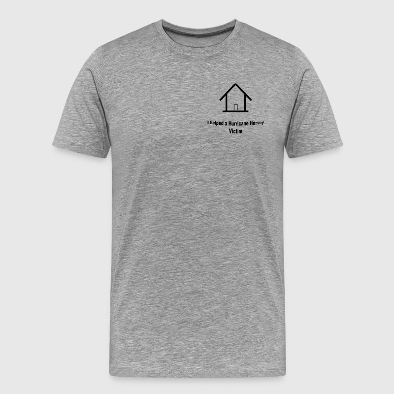 Hurricane Harvey Victim t-shirt donation - Men's Premium T-Shirt
