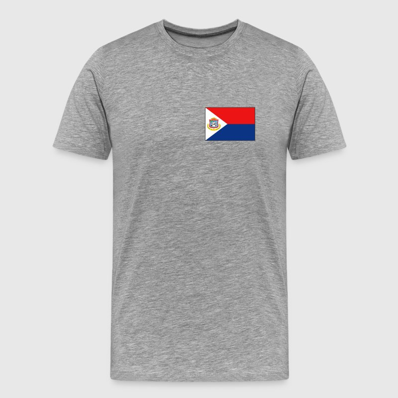 Sint Maarten Flag - Men's Premium T-Shirt