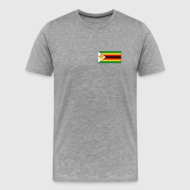 Zimbabwe Flag - Men's Premium T-Shirt