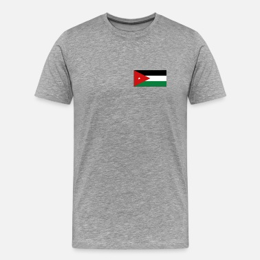 Amman Jordan Flag - Men's Premium T-Shirt