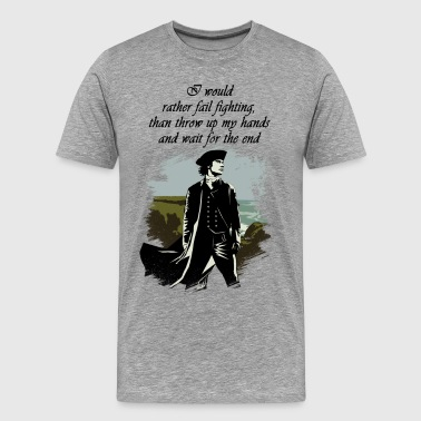 Ross Poldark Quote - Men's Premium T-Shirt