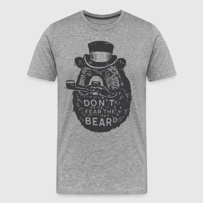 Beard Bear - Men's Premium T-Shirt
