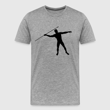 javelin thrower - Men's Premium T-Shirt