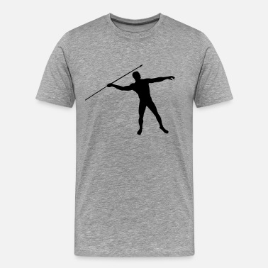 Javelin Thrower javelin thrower - Men's Premium T-Shirt