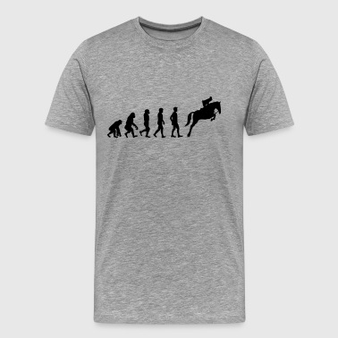 Horse evolution - Men's Premium T-Shirt