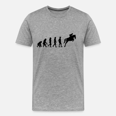 Evolution Horse Horse evolution - Men's Premium T-Shirt