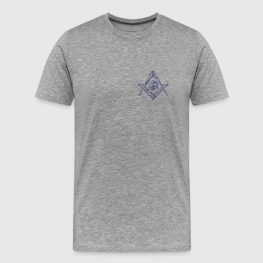 Square & Compasses - Men's Premium T-Shirt