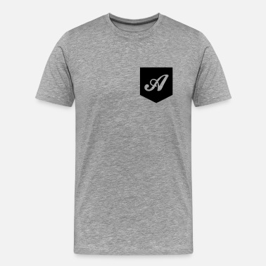 Monogram Monogram Pocket - Men's Premium T-Shirt