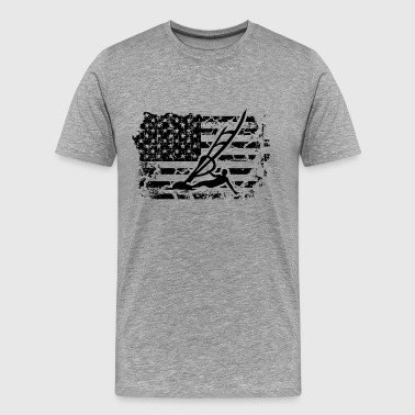 Windsurfing Flag Shirt - Men's Premium T-Shirt