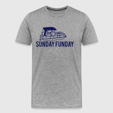 Party Barge sunday funday - Men's Premium T-Shirt