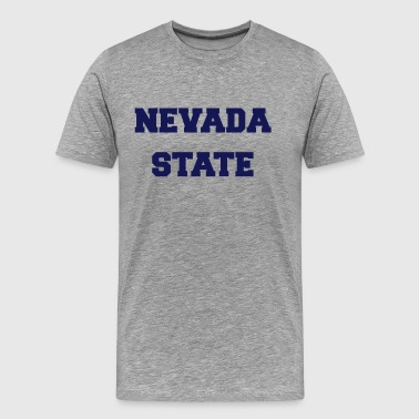 nevada state - Men's Premium T-Shirt