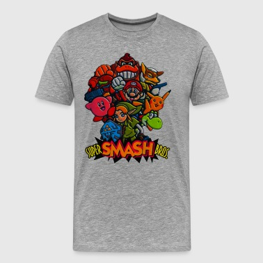 SMASH BROS - Men's Premium T-Shirt