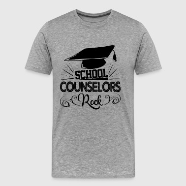 School Counselors Rock Shirt - Men's Premium T-Shirt