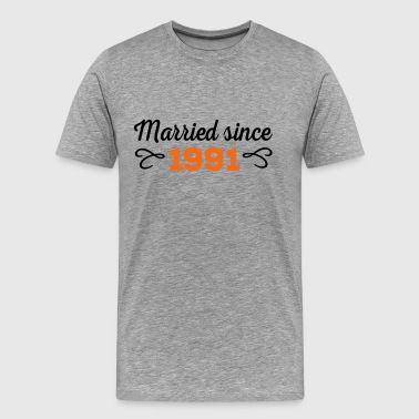 wedding anniversary - Men's Premium T-Shirt