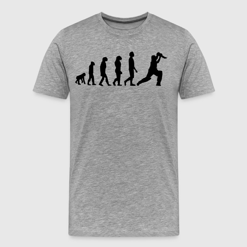 Cricket Evolution - Men's Premium T-Shirt