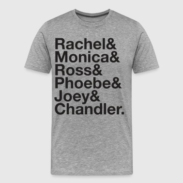 Jennifer Aniston FRIENDS AMPERSAND - Men's Premium T-Shirt
