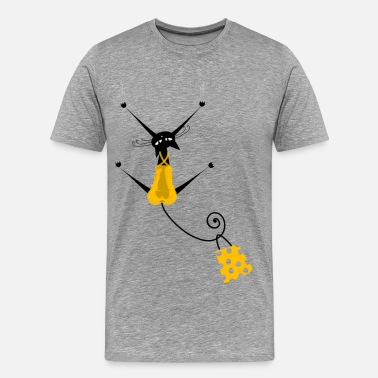 Shadow Silhouette Shadows girl silhouette - Men's Premium T-Shirt