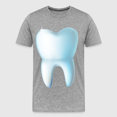 Dental care lovely illustration - Men's Premium T-Shirt