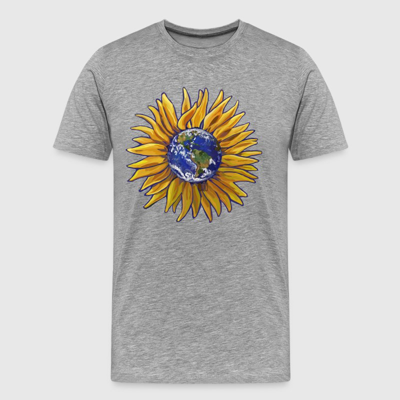 Sunflower Earth - Men's Premium T-Shirt