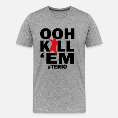 Lil Terio OOH KILL EM - Men's Premium T-Shirt