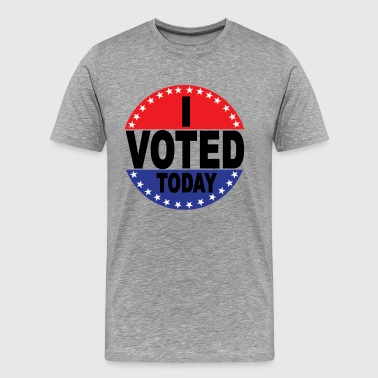 election_day_i_voted_today - Men's Premium T-Shirt