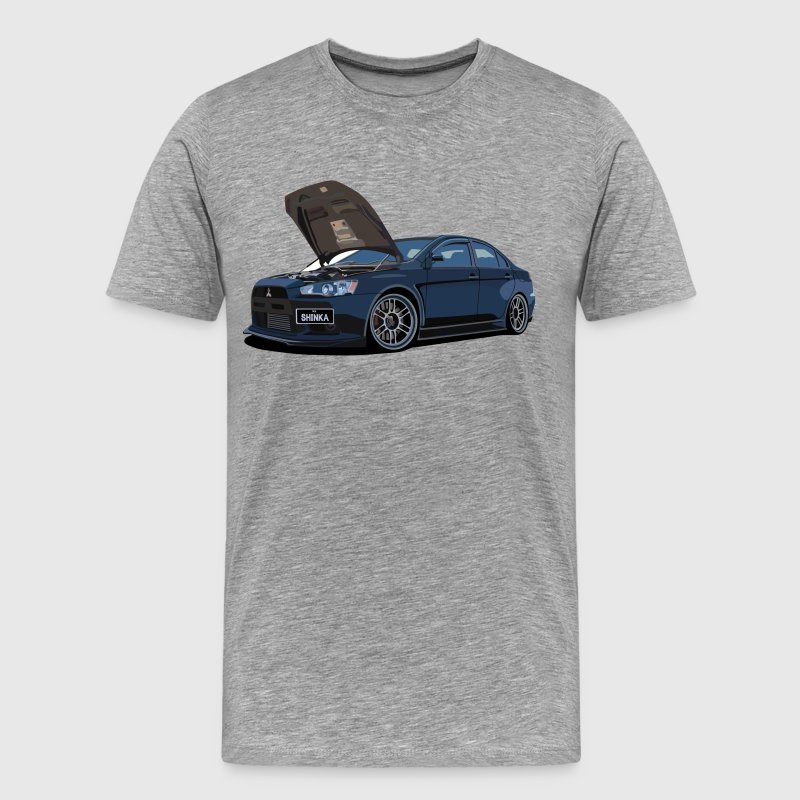 Mitsubishi Lancer Evolution X - Men's Premium T-Shirt
