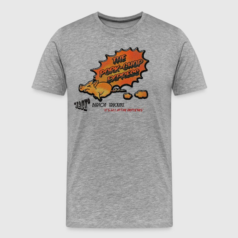 pork chop express - Men's Premium T-Shirt