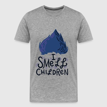 I Smell Children Blue/Black - Men's Premium T-Shirt