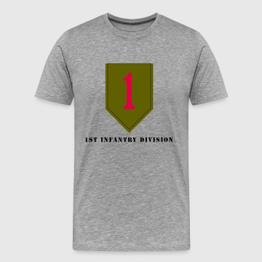 US Army 1st Infantry Division - Men's Premium T-Shirt