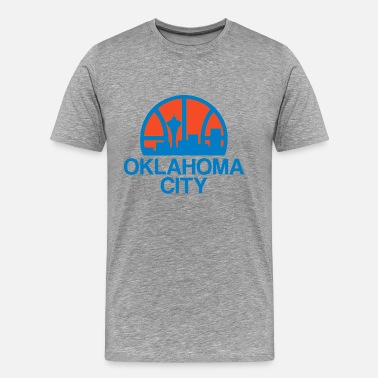 Okc Thunder OKC - Men's Premium T-Shirt
