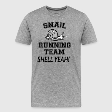 Snail Running Snail Running Team - Men's Premium T-Shirt