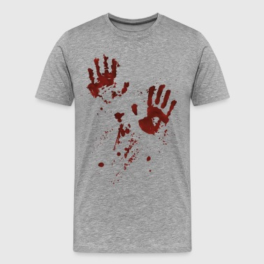 bloody hands - Men's Premium T-Shirt