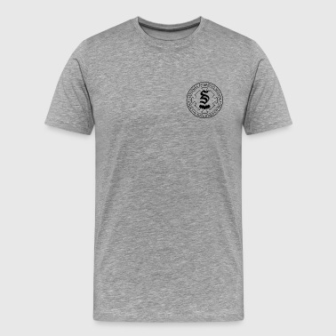 School Board Salvatore Boarding School Crest - Men's Premium T-Shirt