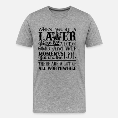 Mr Perfect When You're A Lawyer Shirt - Men's Premium T-Shirt