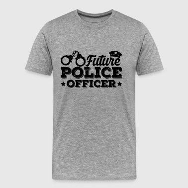 Future Police Officer Shirt - Men's Premium T-Shirt