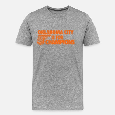 Okc Thunder OKC Champs - Men's Premium T-Shirt
