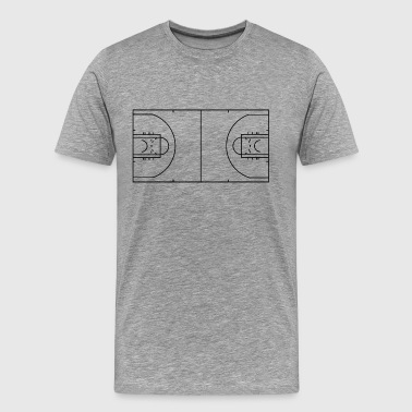 Basketball Court Basketball Court - Men's Premium T-Shirt