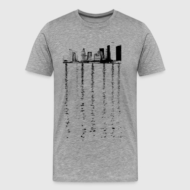 New York City New York Skyline New York City Skyline #3 - Men's Premium T-Shirt