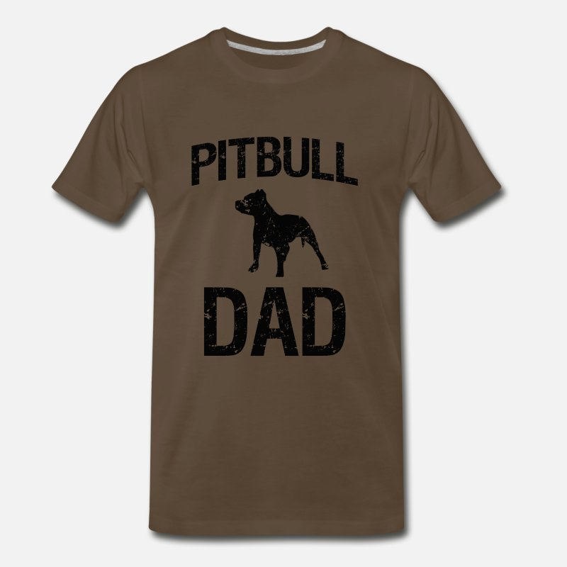 673b2321d Proud Pitbull Dad Men's Shirt Men's Premium T-Shirt | Spreadshirt