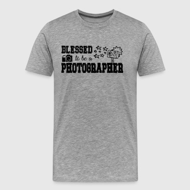 Blessed To Be A Photographer Shirt - Men's Premium T-Shirt